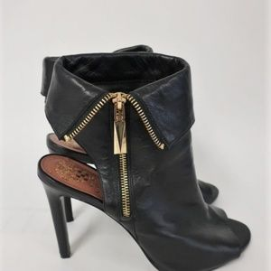 Vince Camuto Kevlin Bootie Black Cuffed